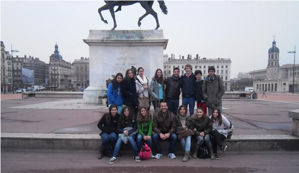 Intercambio con Francia. Colegio Arturo Soria