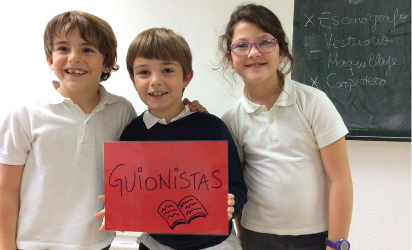 Colegio Arturo Soria - Proyecto Lova. Guionistas