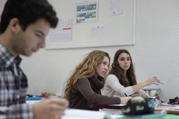 Alumnos de secundaria del colegio Arturo Soria. Excelencia educativa