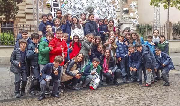 5º de primaria del colegio Arturo Soria visita Alcalá de Henares