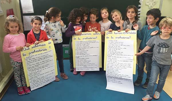 Investigando la Prehistoria en Educación Infantil del Colegio Arturo Soria