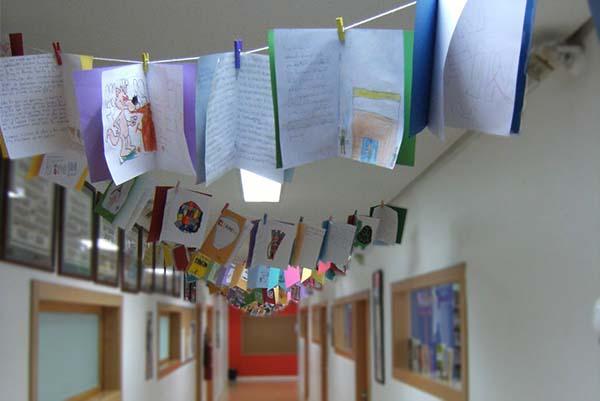 D a del libro colegio arturo soria colegio arturo soria for Puertas decoradas para el dia del libro