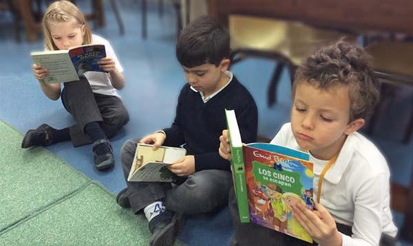 Celebración del Día del Libro en el colegio Arturo Soria