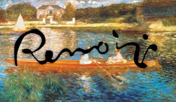 Conferencia sobre Renoir en el Colegio Arturo Soria