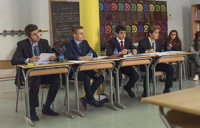 el Colegio Arturo Soria participó en el primer torneo de la I Liga de Debate Preuniversitario organizado por CICAE