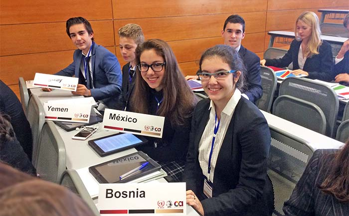 SPAIN YOUTH MODEL UNITED NATIONS 2017