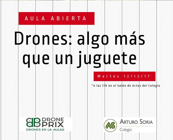 Nuevo taller de Aula Abierta:drones