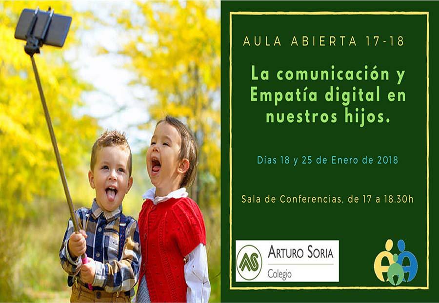 La Comunicación y la empatía digital en nuestros hijos.