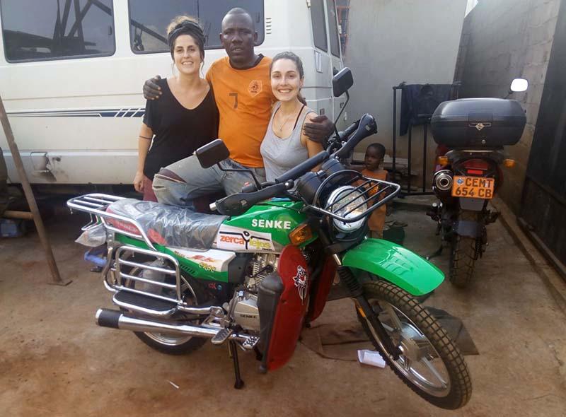 Una moto para Camerún
