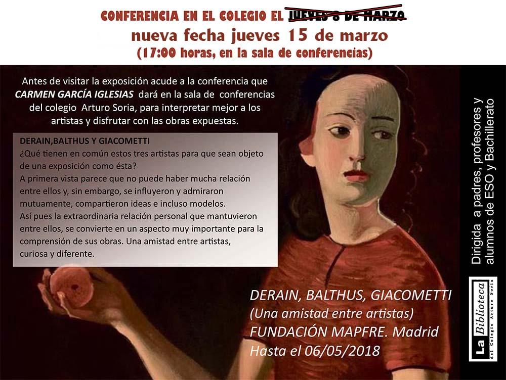 Nueva conferencia de Arte