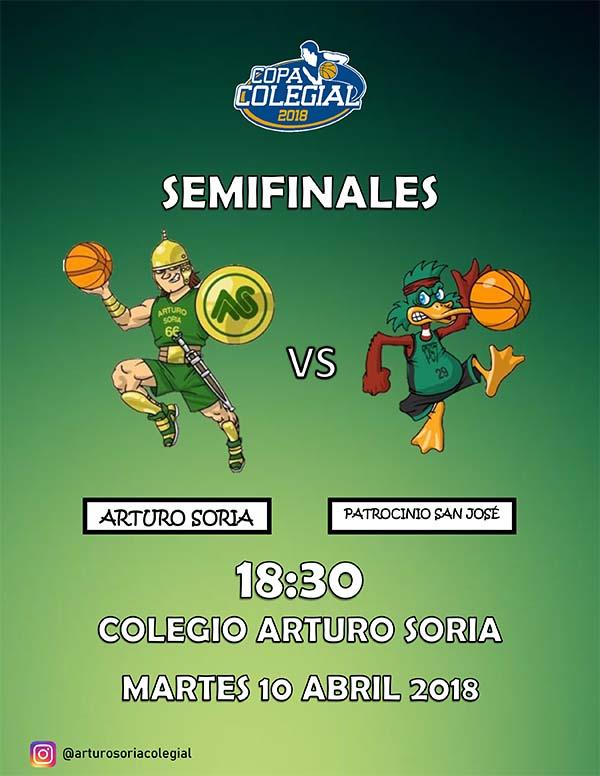 Semifinales de la Copa Colegial