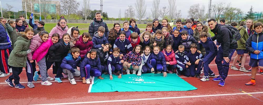 5º de Primaria en los IV Juegos Deportivos CICAE