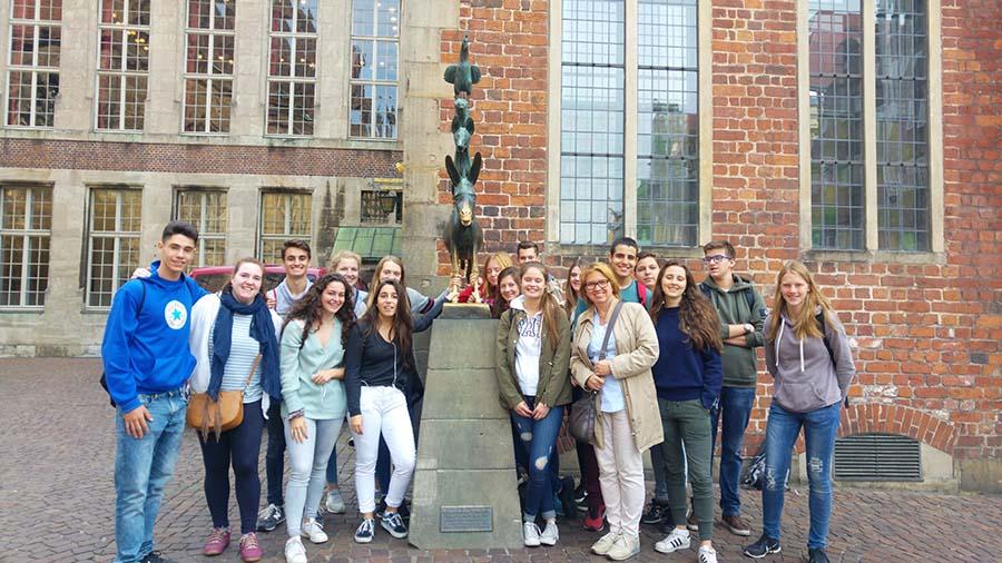 Intercambio con el Goethe Gymnasium