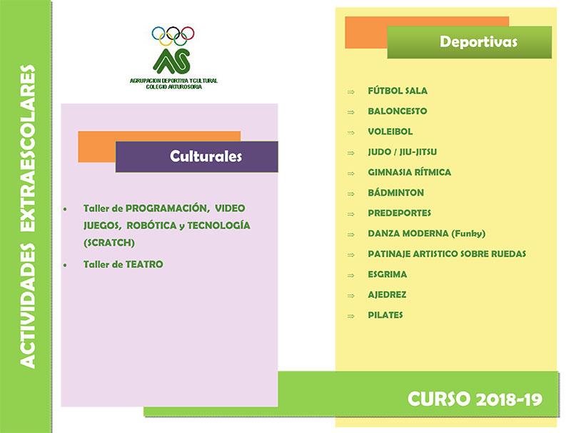 La Agrupación Deportiva y Cultural colegio Arturo Soria