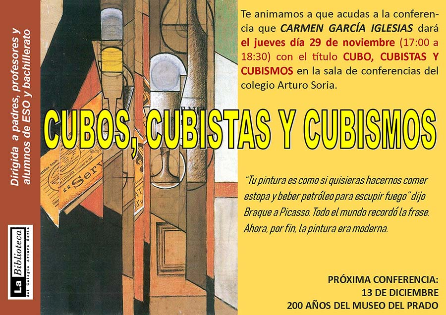 CUBOS, CUBISTAS Y CUBISMOS