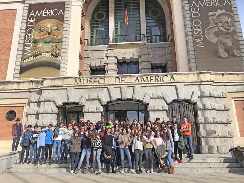 3º de Secundaria visita el Museo de América