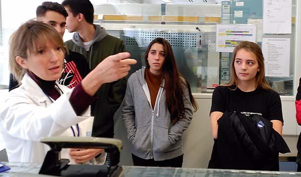 1º de Bachillerato visita el Laboratorio Municipal de Madrid