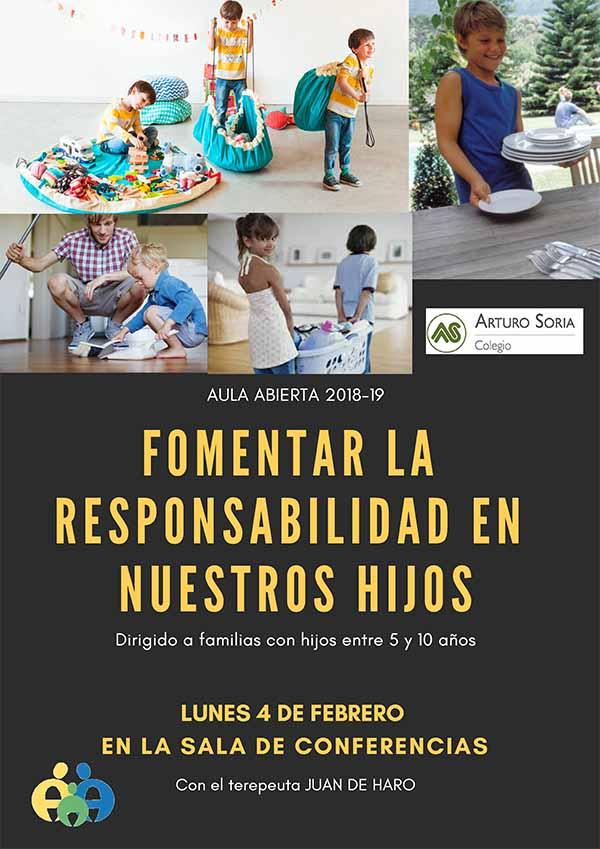 Fomentar la responsabilidad en nuestros hijos