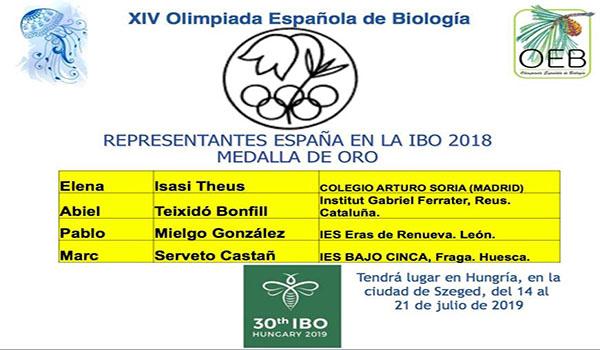 Olimpiada de Biología Española