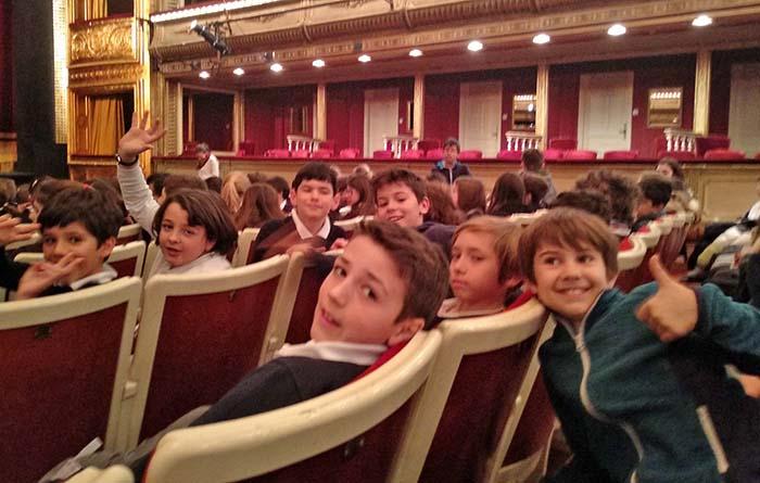 Visitamos el teatro de la Zarzuela