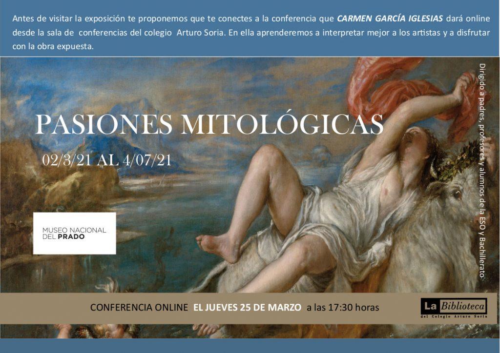 Conferencia de Arte Virtual: Pasiones mitológicas