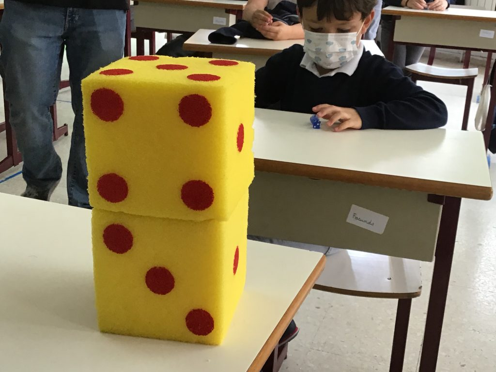 Taller de matemagia con 2º de Primaria