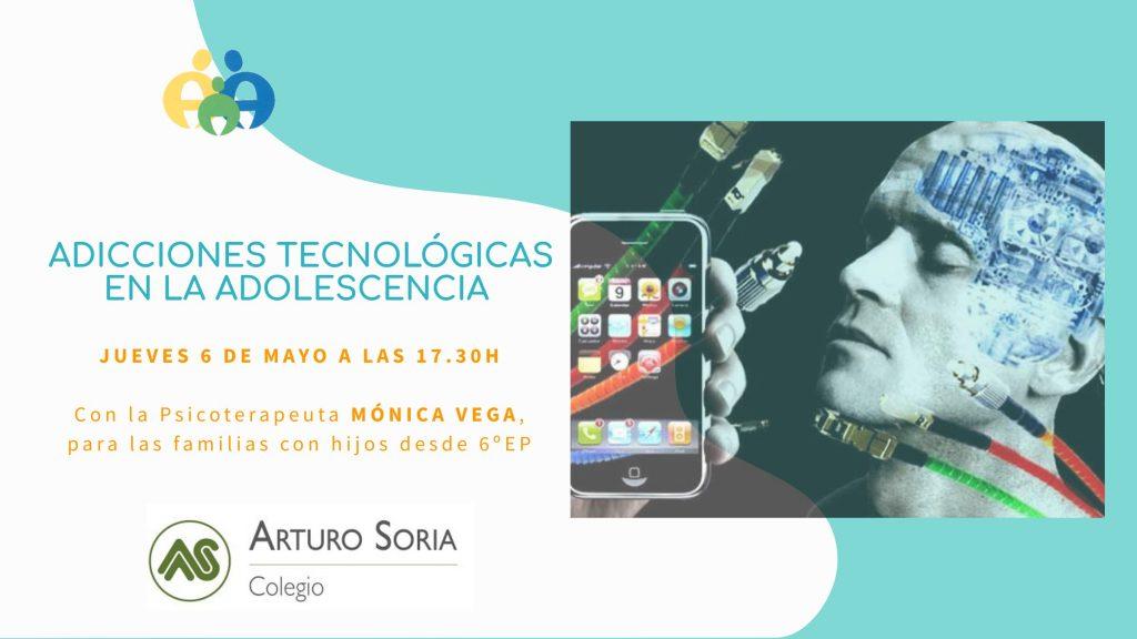 """Aula Abierta Virtual: """"Adicciones tecnológicas en la adolescencia"""""""