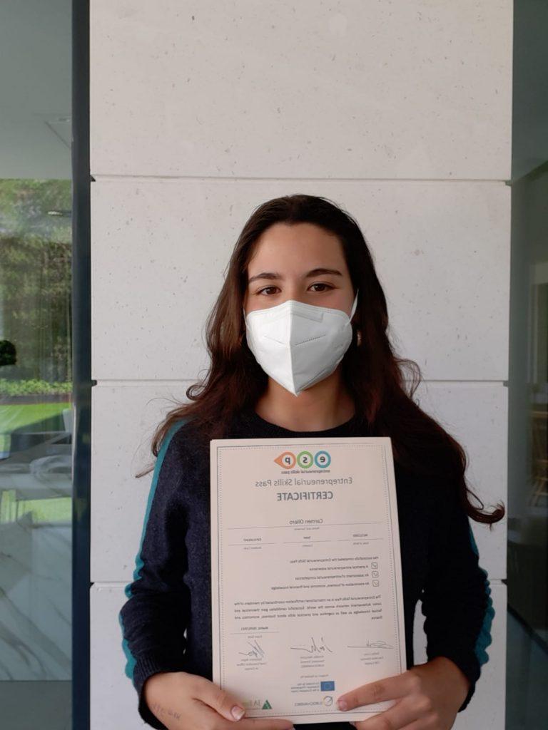 Certificado Entrepreneurial Skill Pass (ESP)